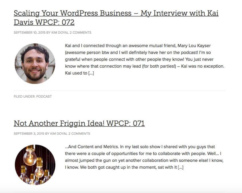 ListWP Business Directory The WordPress Chick Podcast WordPress Podcasts