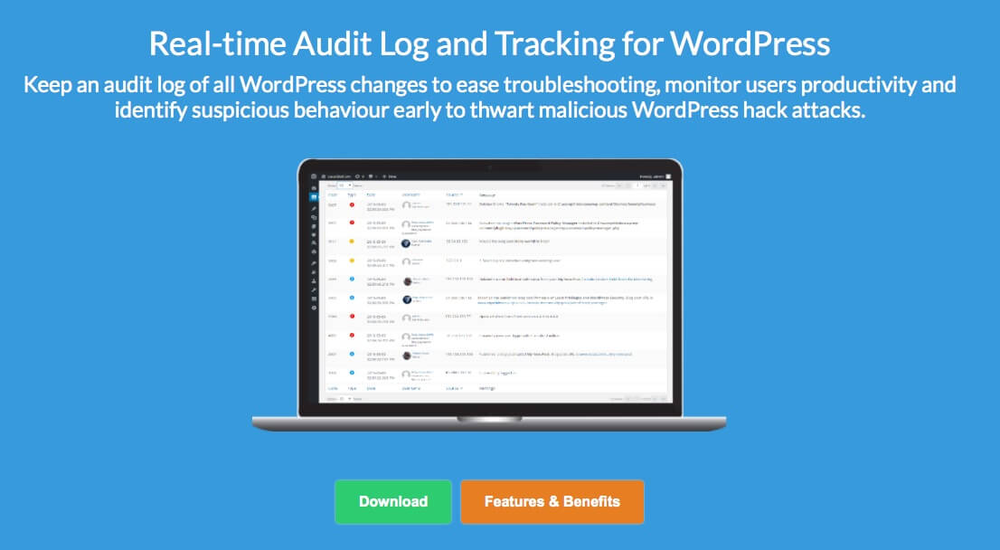 ListWP Business Directory WP Security Audit Log WordPress Security
