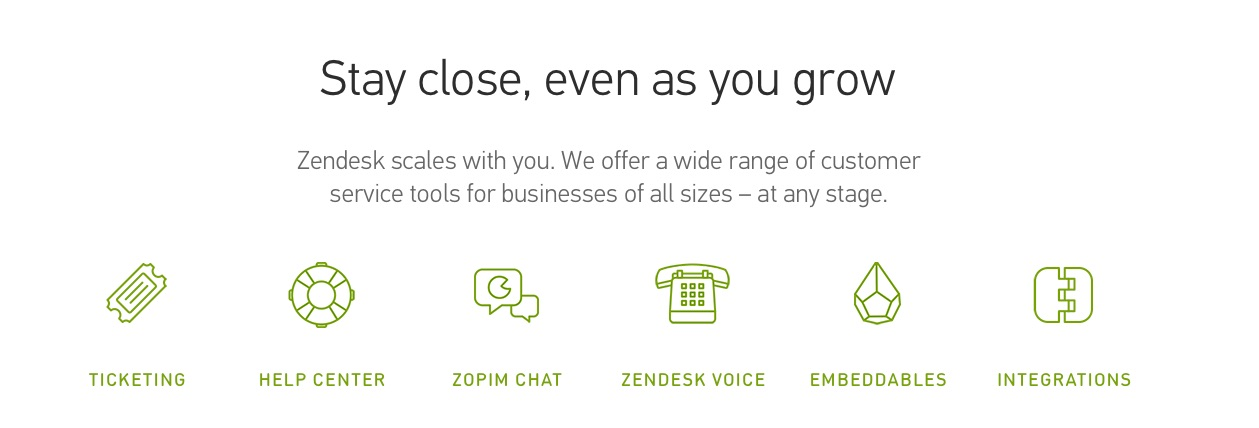 Trade area systems zendesk
