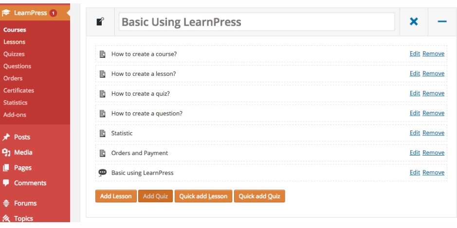 LearnPress ListWP Business Directory