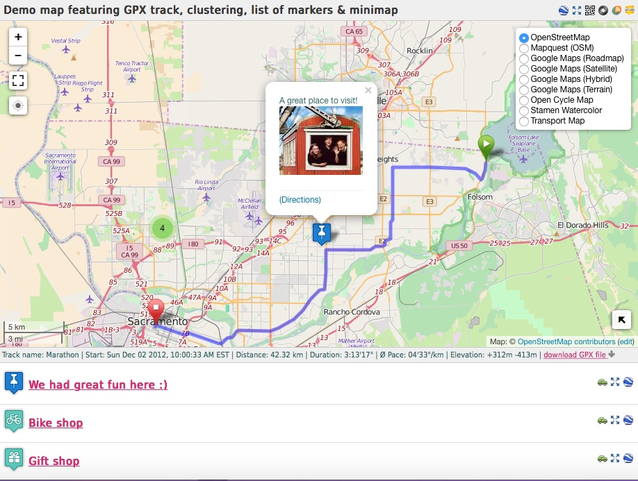 Maps Marker Pro ListWP Business Directory