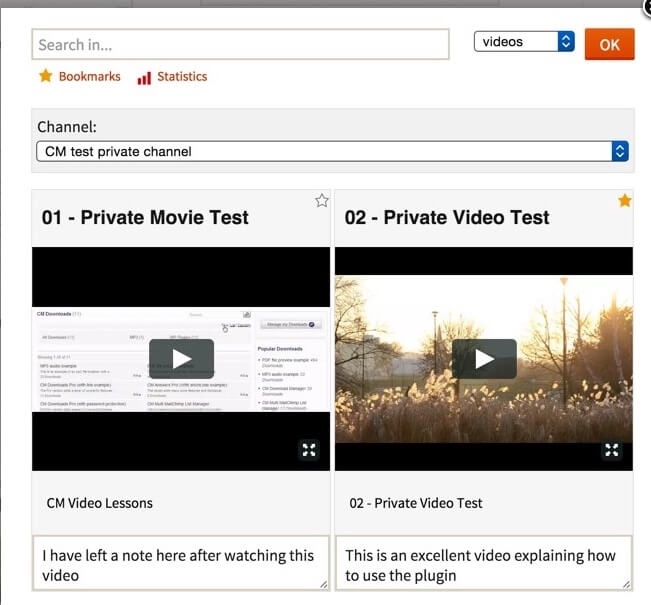 CM Video Lessons Manager ListWP Business Directory